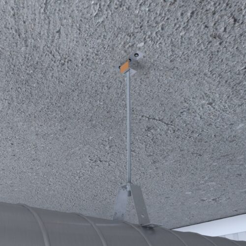 Виброизоляция воздуховода с виброподвесом BIS 8