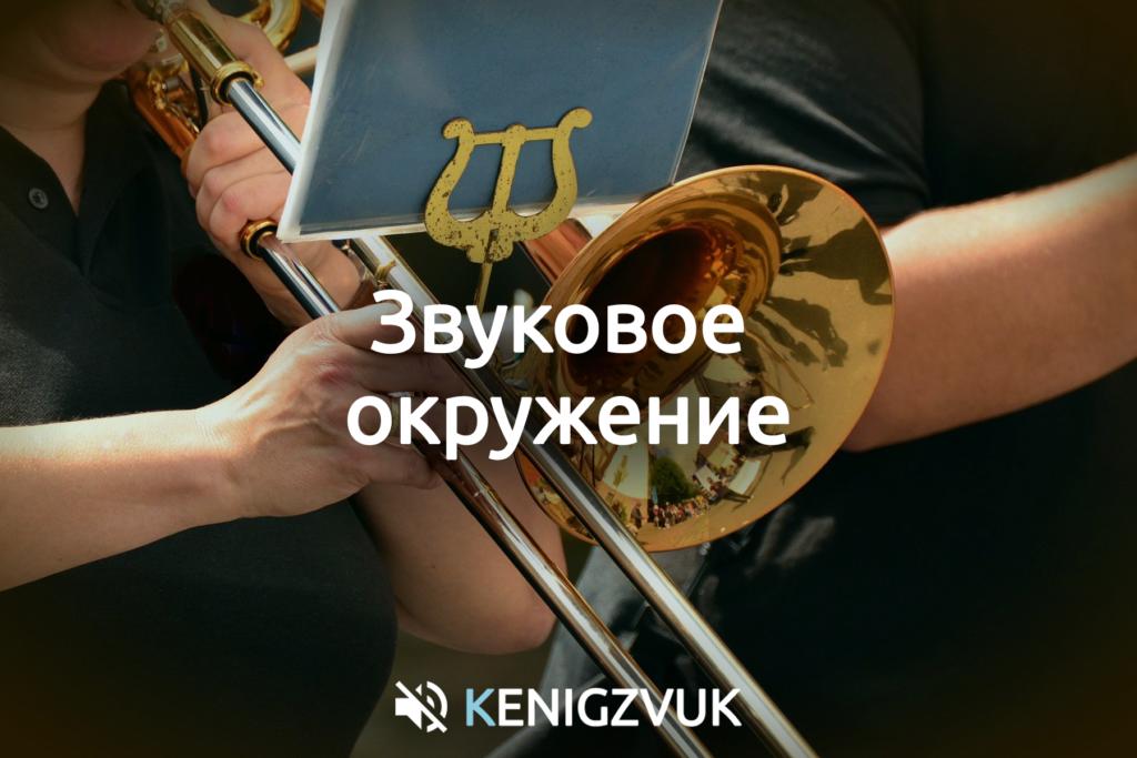 KenigZvuk | Звукоизоляция Калининград - Звуковое окружение