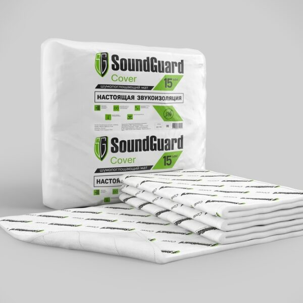 Звукоизоляционный мат SoundGuard Cover