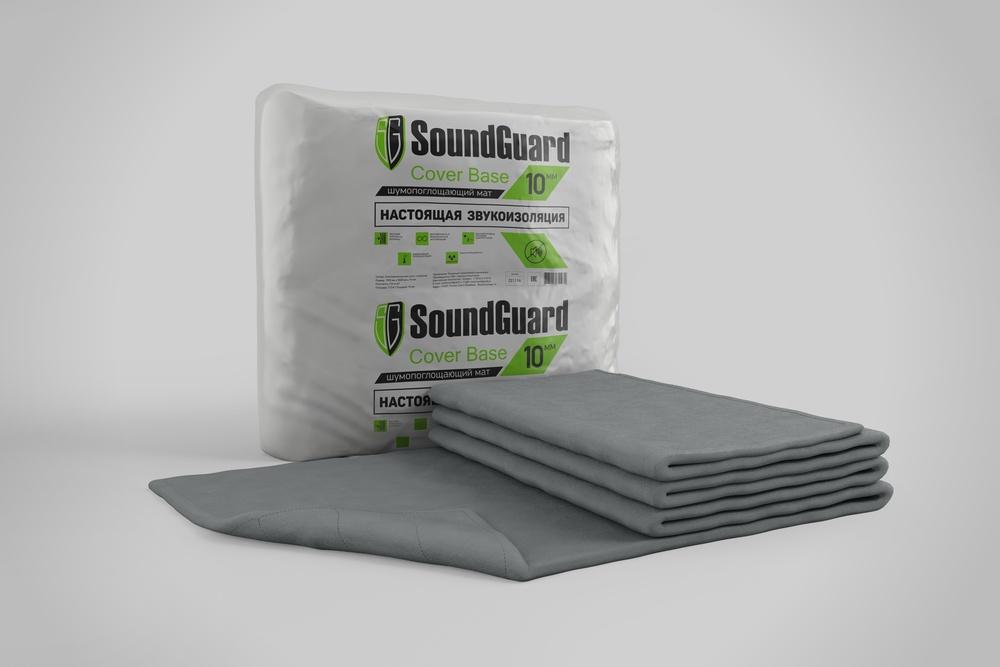 Звукоизоляционный мат SoundGuard Cover Base