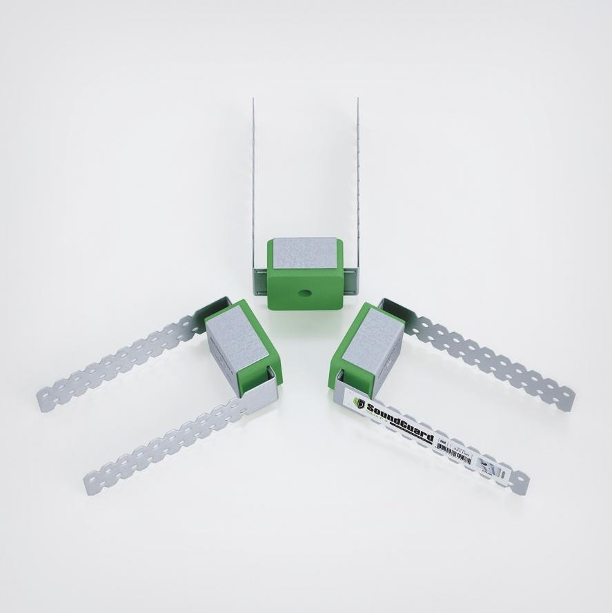 Виброизоляционное крепление SoundGuard Vibro P 6 под шпильку