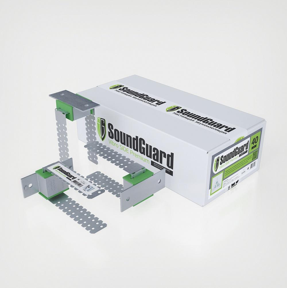 Виброизоляционное крепление SoundGuard Vibro Premium